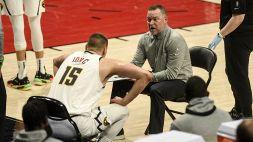 """NBA, Malone non risparmia le critiche ai suoi Nuggets: """"Presi a calci in ... """""""