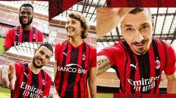 La nuova maglia del Milan: cambia il design delle strisce