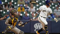 MLB: San Diego cade a Milwaukee dopo 9 successi di fila