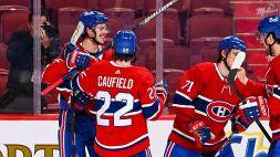 NHL: i Canadiens rimettono la serie in parità