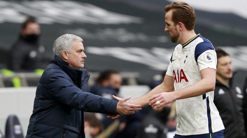 """Kane presenta Mourinho alla Roma: """"Vuole solo vincere, per me era fantastico"""""""