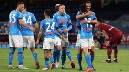 Napoli-Udinese 5-1: partenopei secondi per una notte