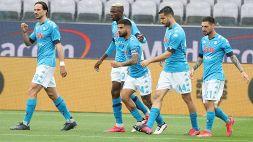 Napoli, controsorpasso alla Juventus: Champions a un passo