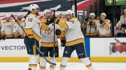 NHL: Josi ferma la rimonta di Columbus