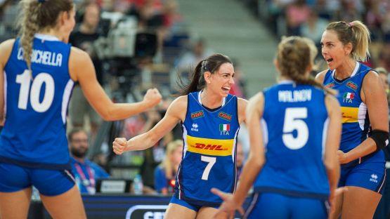 Volley, le convocate azzurre per il secondo raduno