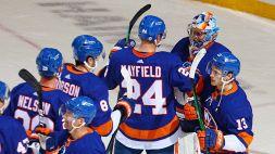 NHL: Islanders a valanga, serie chiusa con i Bruins
