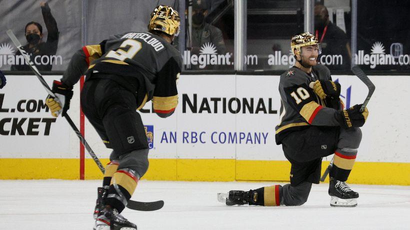 NHL, supplementari e vittorie per Wild e Golden Knights