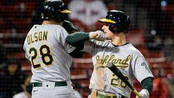 MLB: vincono tutte le prime tre dell'American League