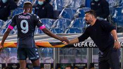 """""""Hai fatto tanto per me"""": Osimhen ringrazia Gattuso"""