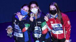 Europei di tuffi: Elena Bertocchi oro e Chiara Pellacani bronzo nel trampolino da 1 metro