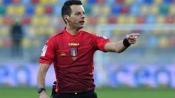 Serie B: le designazioni arbitrali del turno preliminare playoff