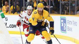 NHL: Colorado vola, i Predators riaprono la serie