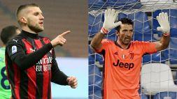 Top e Flop 36ª giornata: Buffon miracoloso, Rebic mostruoso