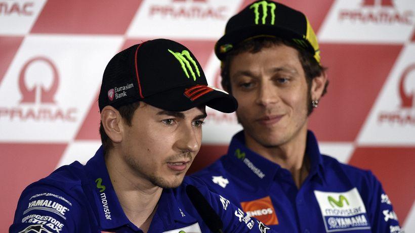 MotoGp, Jorge Lorenzo fa una rivelazione su Valentino Rossi