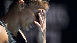 Tennis, niente Roma per la Errani