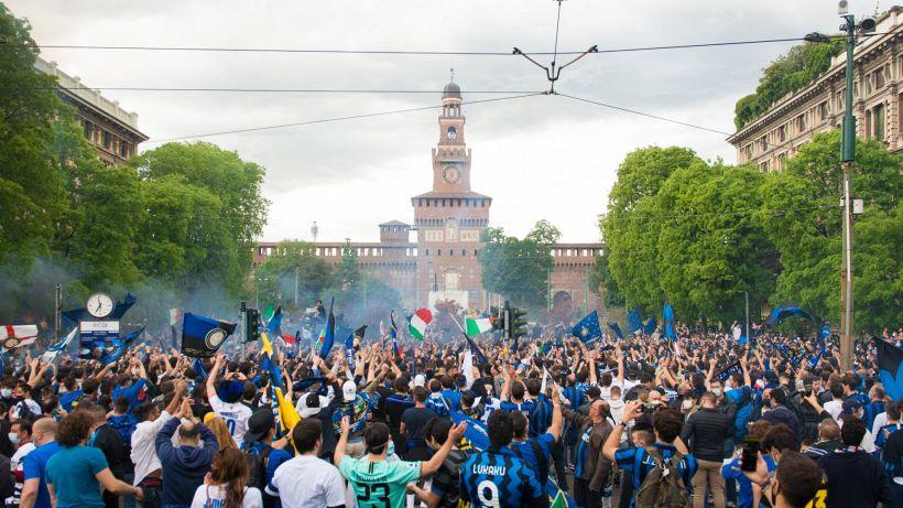 """Inter, festa Scudetto rinviata: """"Manifestazione per 3000"""""""