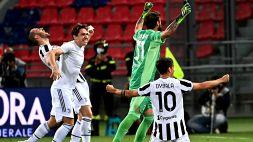 Serie A: Juventus in Champions dopo il 4-1 col Bologna, le foto