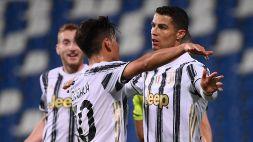 Serie A: Sassuolo-Juventus 1-3, le foto
