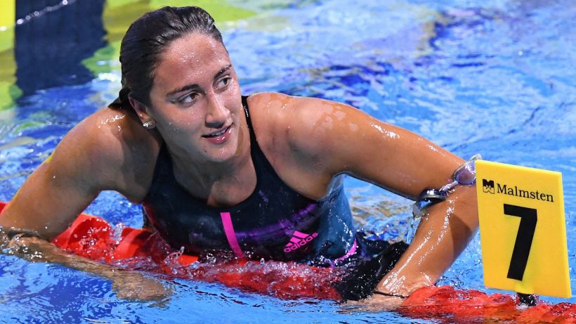 Nuoto, Simona Quadarella campionessa d'Europa negli 800 stile