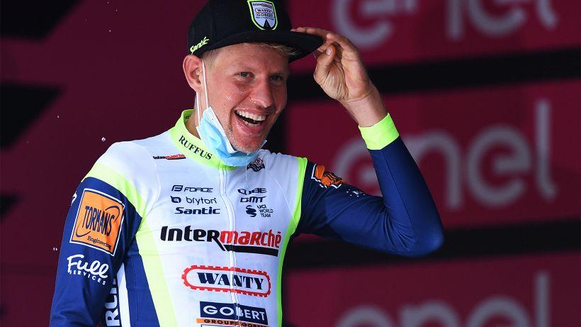Giro d'Italia, Van der Hoorn: dall'addio al Ciclismo alla vittoria al Giro