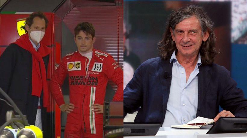F1, Terruzzi spara a zero sulla Ferrari, Leclerc e Sainz