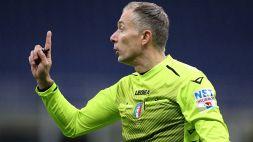 Serie A: le designazioni arbitrali per la 35a giornata
