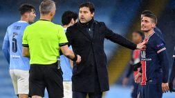 """PSG, Verratti confessa: """"L'arbitro ci ha mandato a quel paese"""""""