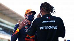 """F1, Verstappen punge ancora Hamilton: """"Non gli invidio niente"""""""