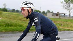 """Giro d'Italia, Nibali limita i danni: """"Ho patito ma tengo duro"""""""