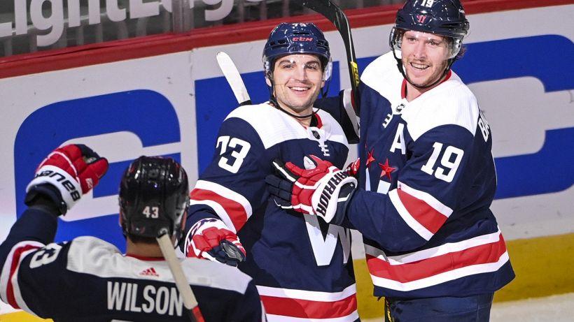 Play-off NHL: il primo sorriso è dei Capitals