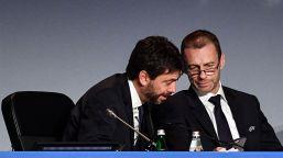 E' arrivata la decisione dell'Uefa: la lettera alla Juventus