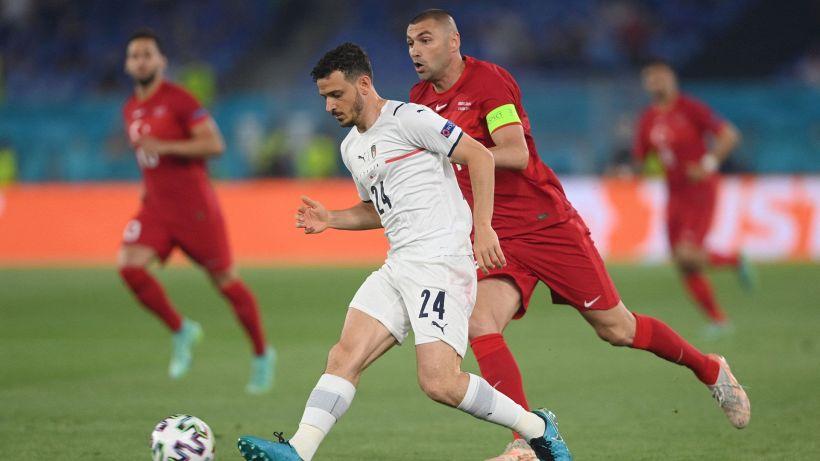 Turchia-Italia, Florenzi fuori all'intervallo: sostituito per scelta tecnica