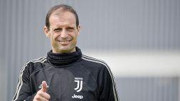 Juventus, vertice societario alla Continassa con Allegri e lo Staff