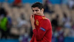 """Lo sfogo di Morata: """"Insulti e minacce alla mia famiglia"""""""