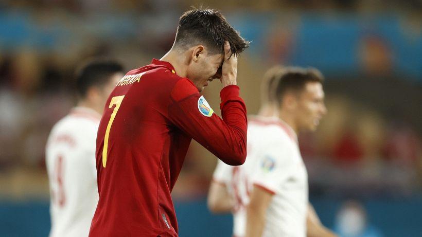 Euro 2020: botta e risposta Morata-Lewandowski, Spagna fermata
