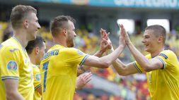 Euro 2020, Ucraina-Macedonia del Nord 2-1: prima vittoria per Shevchenko