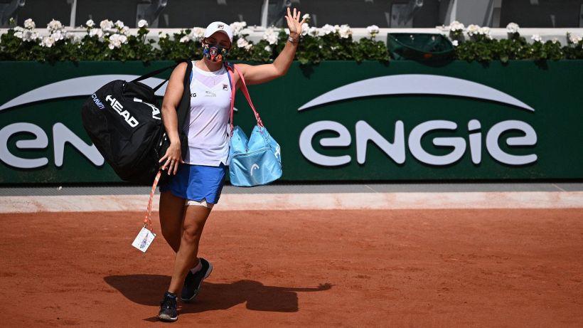 Anche Ashleigh Barty si ritira dal Roland Garros