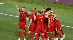 Euro 2020, Belgio-Portogallo 1-0: le foto