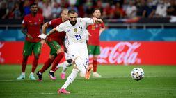 Francia, Benzema in goal dopo 5 anni: Ronaldo gli dà 'il cinque'