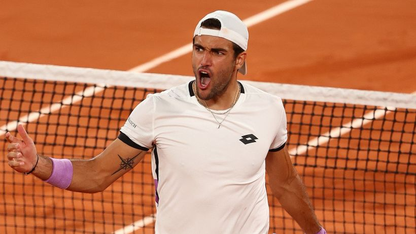 """Roland Garros, rabbia Berrettini: """"Una vergogna l'uscita del pubblico"""""""