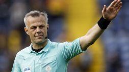 Euro 2020: arbitro argentino per Ucraina-Macedonia. Danimarca-Belgio a Kuipers