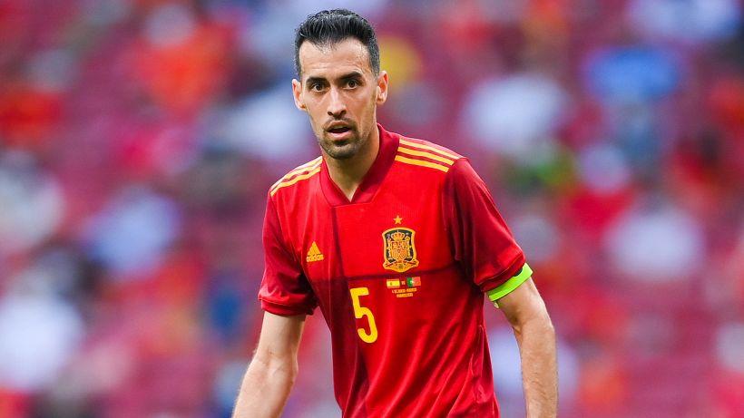 Euro 2020, Busquets ancora positivo al Coronavirus