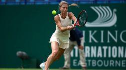 A Eastbourne Camila Giorgi al quarti di finale