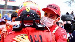 Ferrari: Leclerc e Sainz coi piedi per terra in vista di Baku