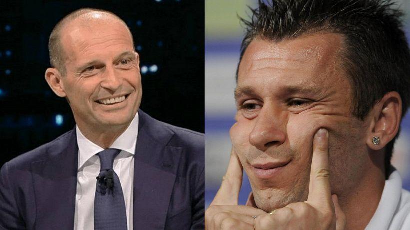 Juventus, Allegri: la sentenza di Cassano, è polemica