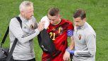 Euro2020, l'infortunio choc di Castagne: sei fratture al volto