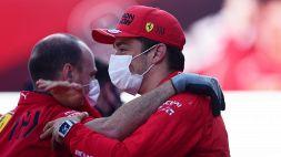 F1, Ferrari: Leclerc definisce in modo curioso il suo giro top