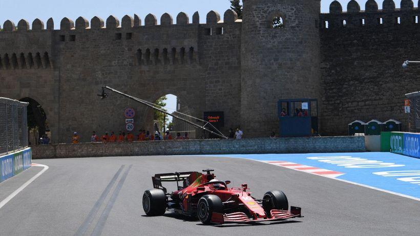 F1, seconde libere Baku: le Ferrari inseguono le Red Bull