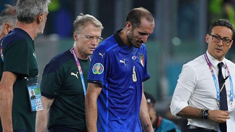 Chiellini e Florenzi ancora a parte: in dubbio per Italia-Austria