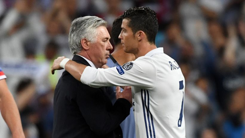 Mercato Juve: Ancelotti manda un messaggio a Cristiano Ronaldo